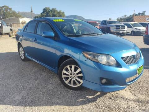 2010 Toyota Corolla for sale at Canyon View Auto Sales in Cedar City UT