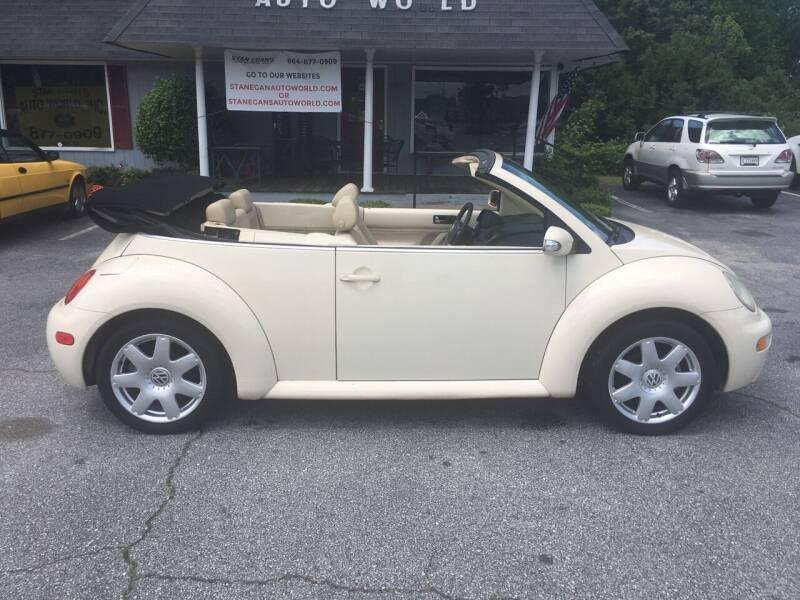 2003 Volkswagen New Beetle Convertible for sale in Greer, SC