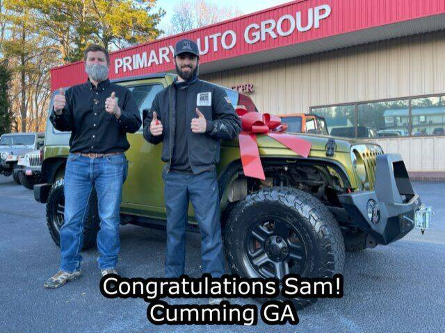 2010 Jeep Wrangler for sale at Primary Auto Group in Dawsonville GA