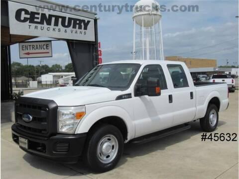 2014 Ford F-250 Super Duty for sale at CENTURY TRUCKS & VANS in Grand Prairie TX