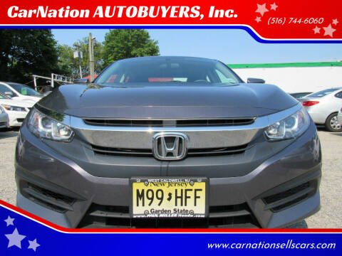2016 Honda Civic for sale at CarNation AUTOBUYERS, Inc. in Rockville Centre NY