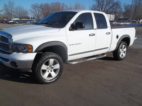 2002 Dodge Ram Pickup 1500 for sale at BRETT SPAULDING SALES in Onawa IA
