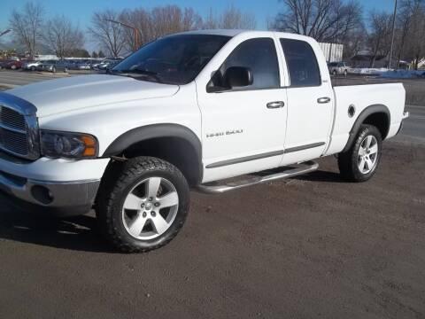 2002 Dodge Ram Pickup 1500 for sale at BRETT SPAULDING SALES in Onawa IA