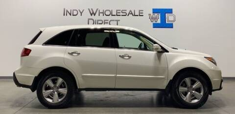 2011 Acura MDX for sale at Indy Wholesale Direct in Carmel IN