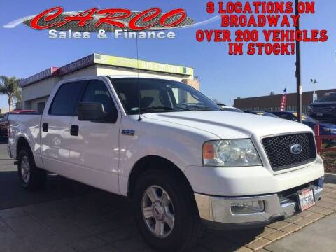 2005 Ford F-150 for sale at CARCO SALES & FINANCE in Chula Vista CA