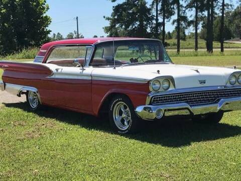 1959 Ford Fairlane 500 for sale at Classic Car Deals in Cadillac MI