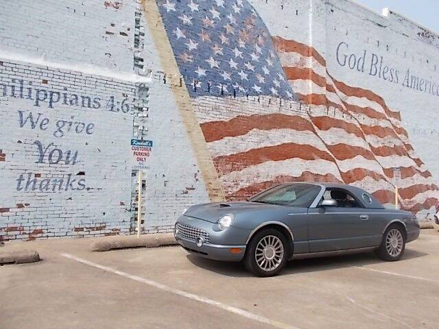 2005 Ford Thunderbird for sale at LARRY'S CLASSICS in Skiatook OK