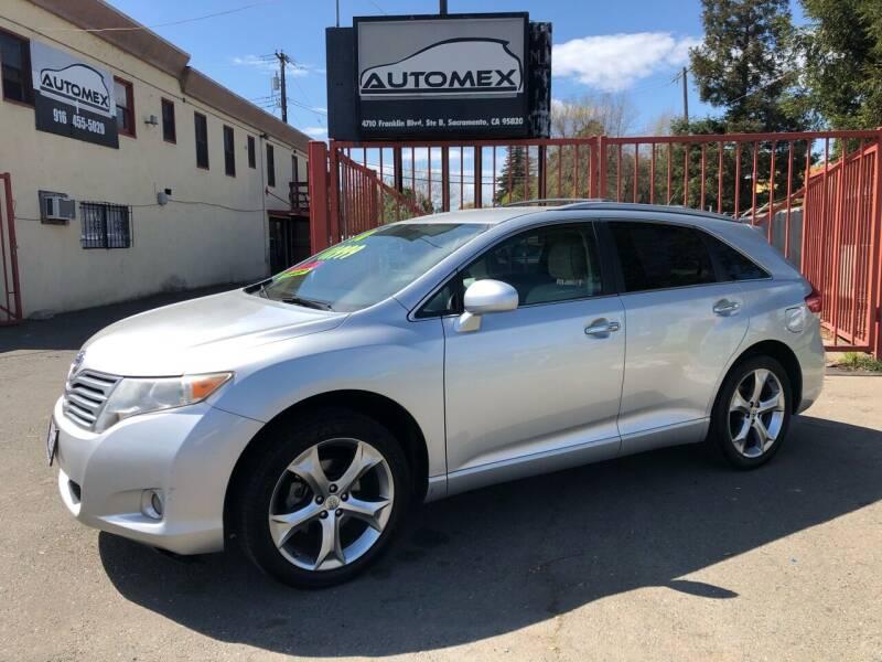 2010 Toyota Venza for sale at AUTOMEX in Sacramento CA