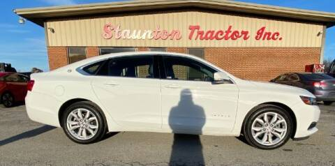 2016 Chevrolet Impala for sale at STAUNTON TRACTOR INC in Staunton VA