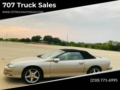 2002 Chevrolet Camaro for sale at 707 Truck Sales in San Antonio TX