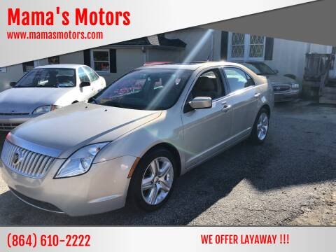 2010 Mercury Milan for sale at Mama's Motors in Greer SC