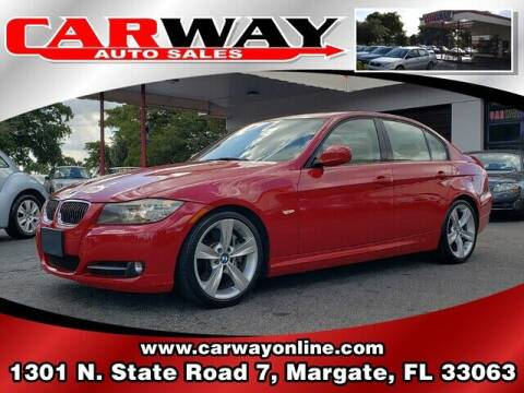 2010 BMW 3 Series for sale at CARWAY Auto Sales in Margate FL