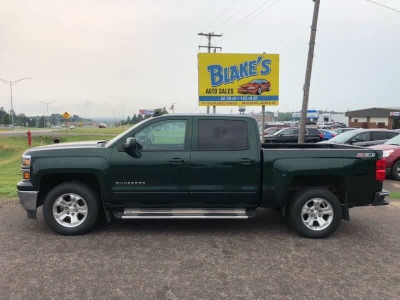 2015 Chevrolet Silverado 1500 for sale at Blake's Auto Sales in Rice Lake WI