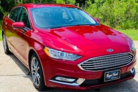 2017 Ford Fusion for sale at Rogel Ford in Crystal Springs MS