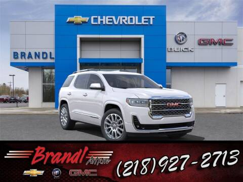 2021 GMC Acadia for sale at Brandl GM in Aitkin MN