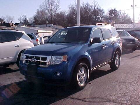 2011 Ford Escape for sale at Bates Auto & Truck Center in Zanesville OH