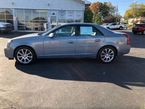 2007 Cadillac CTS for sale at J&J Car and Truck Sales in North Canton OH
