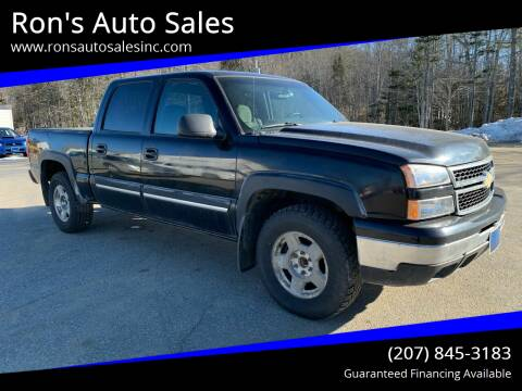 2007 Chevrolet Silverado 1500 Classic for sale at Ron's Auto Sales in Washington ME