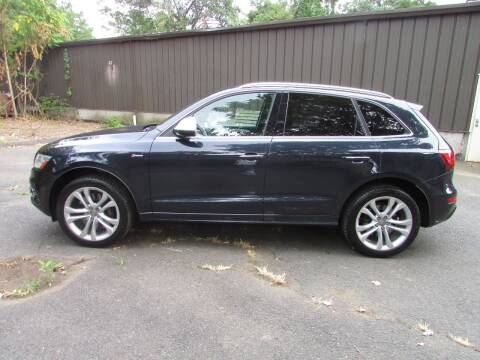 2015 Audi SQ5 for sale at Nutmeg Auto Wholesalers Inc in East Hartford CT