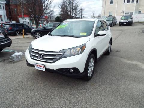 2012 Honda CR-V for sale at FRIAS AUTO SALES LLC in Lawrence MA
