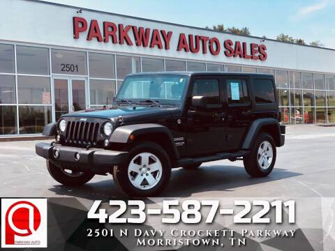 2014 Jeep Wrangler Unlimited for sale at Parkway Auto Sales, Inc. in Morristown TN