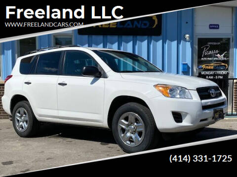 2011 Toyota RAV4 for sale at Freeland LLC in Waukesha WI
