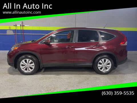 2014 Honda CR-V for sale at All In Auto Inc in Addison IL