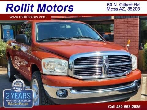 2008 Dodge Ram Pickup 1500 for sale at Rollit Motors in Mesa AZ