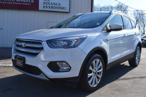 2017 Ford Escape for sale at Dealswithwheels in Inver Grove Heights MN