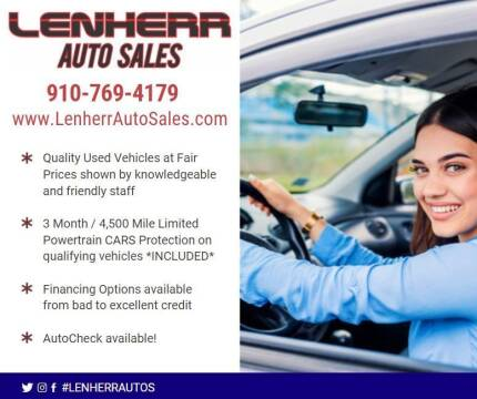 2012 FIAT 500 for sale at Lenherr Auto Sales in Wilmington NC