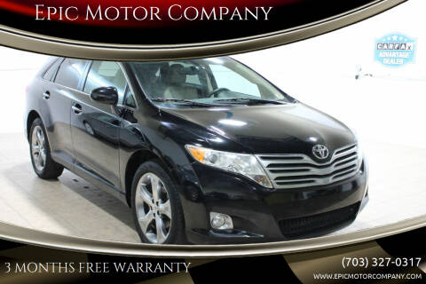 2010 Toyota Venza for sale at Epic Motor Company in Chantilly VA