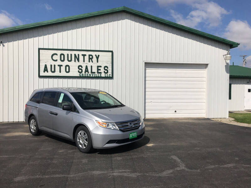 2013 Honda Odyssey for sale at COUNTRY AUTO SALES LLC in Greenville OH