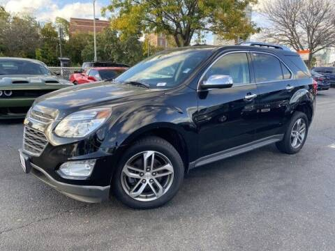2017 Chevrolet Equinox for sale at Sonias Auto Sales in Worcester MA