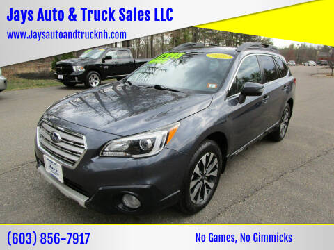 2015 Subaru Outback for sale at Jays Auto & Truck Sales LLC in Loudon NH