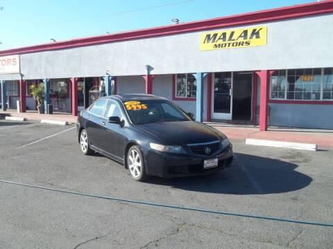 2004 Acura TSX for sale at Atayas Motors INC #1 in Sacramento CA