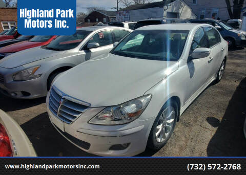 2013 Hyundai Genesis for sale at Highland Park Motors Inc. in Highland Park NJ