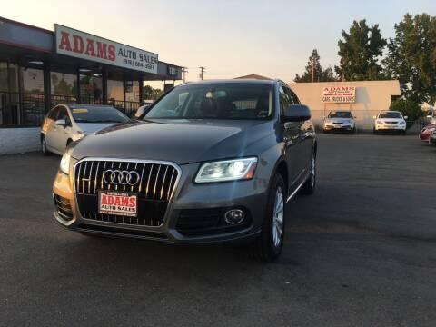 2014 Audi Q5 for sale at Adams Auto Sales in Sacramento CA