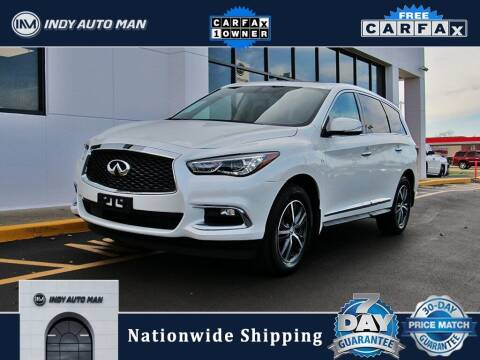 2017 Infiniti QX60 for sale at INDY AUTO MAN in Indianapolis IN