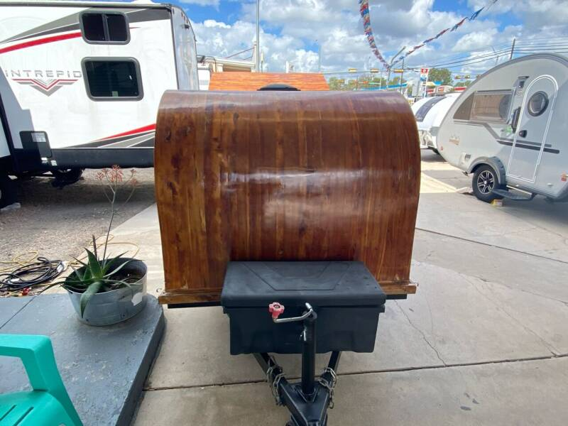 2012 Custom Teardrop RED CEDAR for sale at ROGERS RV in Burnet TX