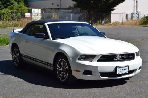 2012 Ford Mustang for sale at Skyline Motors Auto Sales in Tacoma WA