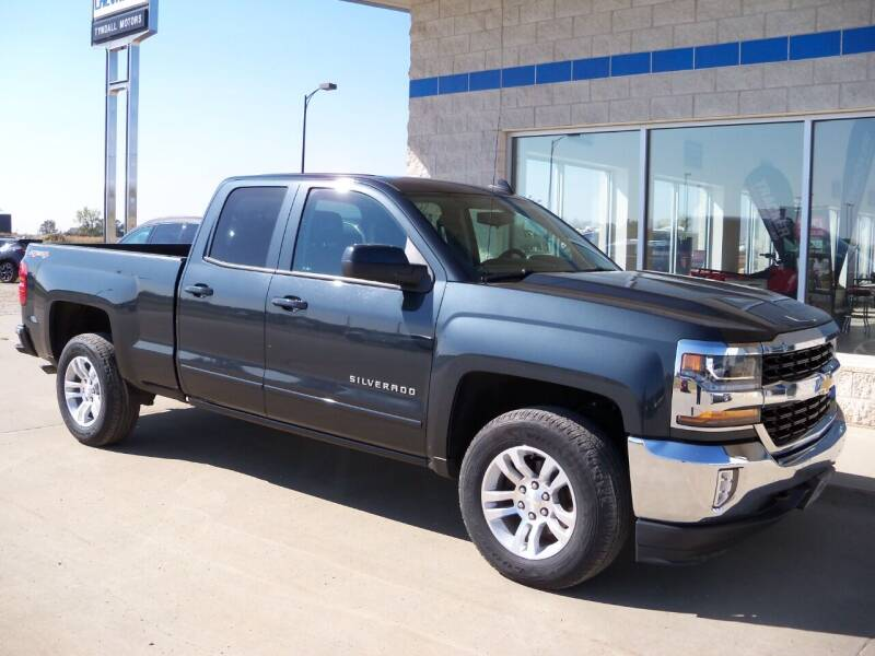 2017 Chevrolet Silverado 1500 for sale at Tyndall Motors in Tyndall SD