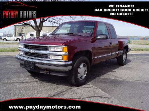 1997 Chevrolet C/K 1500 Series for sale at Payday Motors in Wichita And Topeka KS