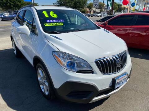 2016 Buick Encore for sale at CAR GENERATION CENTER, INC. in Los Angeles CA