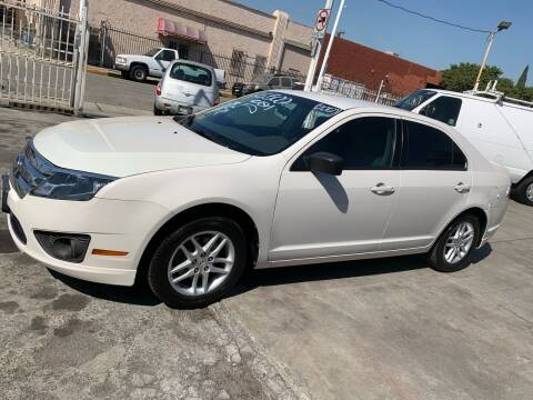 2012 Ford Fusion for sale at Olympic Motors in Los Angeles CA