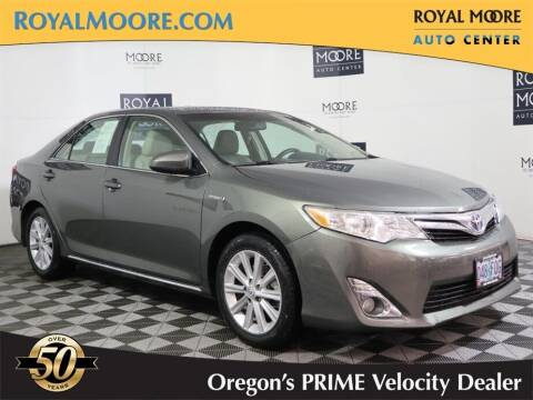 2012 Toyota Camry Hybrid for sale at Royal Moore Custom Finance in Hillsboro OR