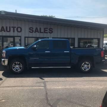 2017 Chevrolet Silverado 1500 for sale at STEVE'S AUTO SALES INC in Scottsbluff NE