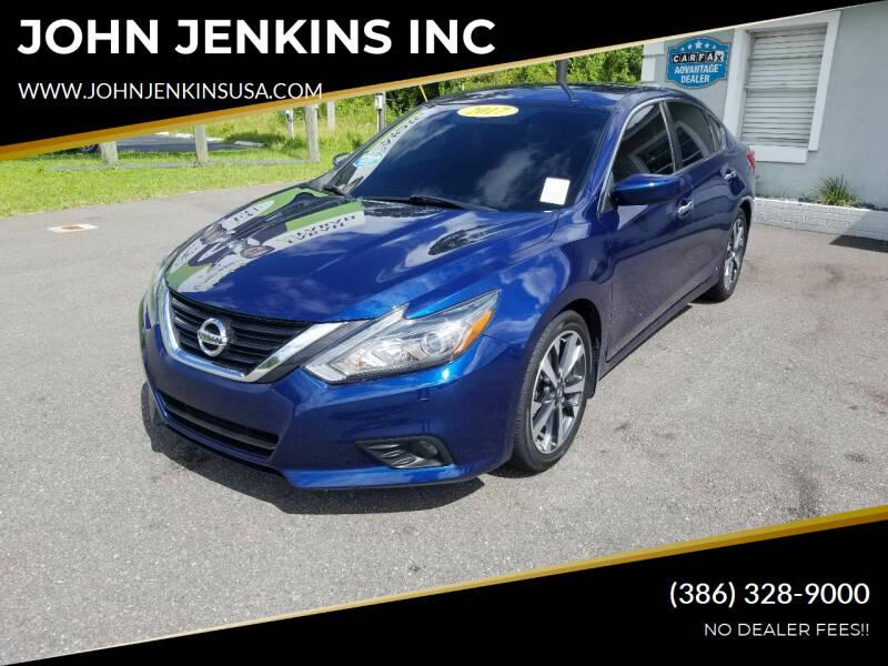 2017 Nissan Altima for sale at JOHN JENKINS INC in Palatka FL