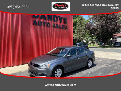 2014 Volkswagen Jetta for sale at Dandy's Auto Sales in Forest Lake MN