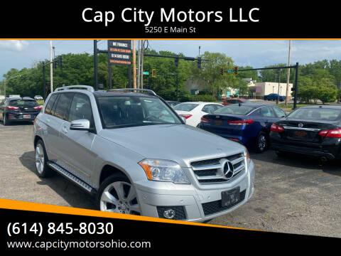 2010 Mercedes-Benz GLK for sale at Cap City Motors LLC in Columbus OH