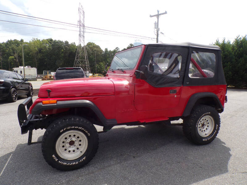 1987 Jeep Wrangler for sale at Cambria Cars in Mooresville NC